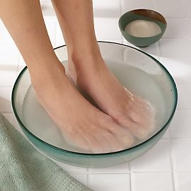 Give Your Feet a Summer Treat - Exfoliating Epsom Salt Foot Soak