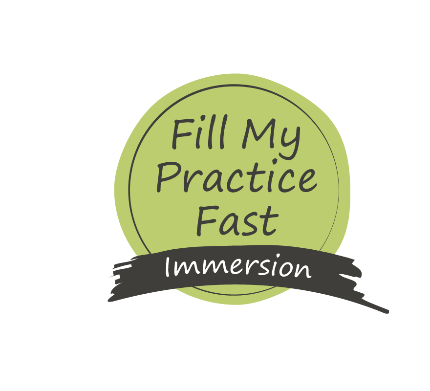Fill My Practice Fast Immersion Program Badge-Black Text